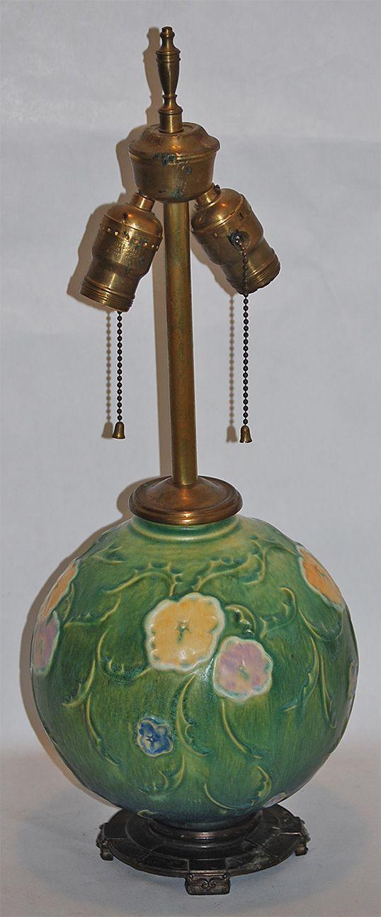 Vintage Ceramic Pottery Lamp
