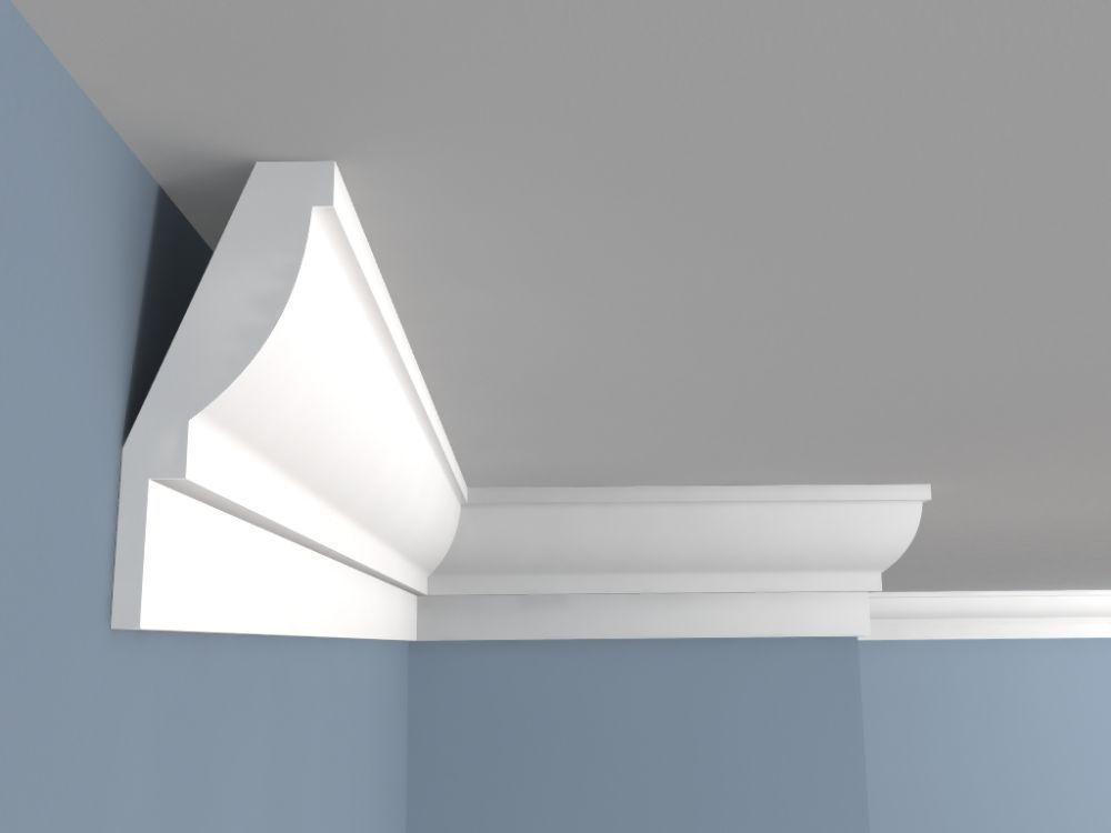 Deckenabschlussleiste Fe5 Deckenleiste Weiss Haus Deko Decke Innenraum