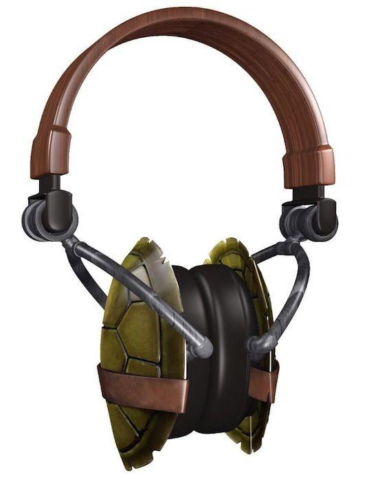375ef1f63d1 Teenage Mutant Ninja Turtles Headphones!   Nerd Stuff   Ninja ...