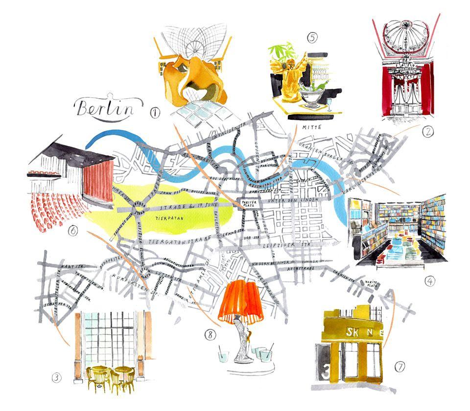 Emily Robertson - Berlin Map