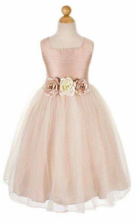 Vestidito melon de tul | fiesta timberly | Pinterest | Flower girl ...