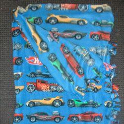 Fleece tie sleeping bag