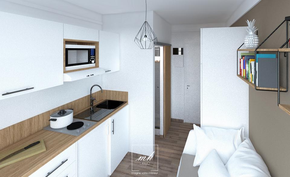 Un Studio Etudiant De 10 M2 Le Havre 76 Idee Deco Appartement