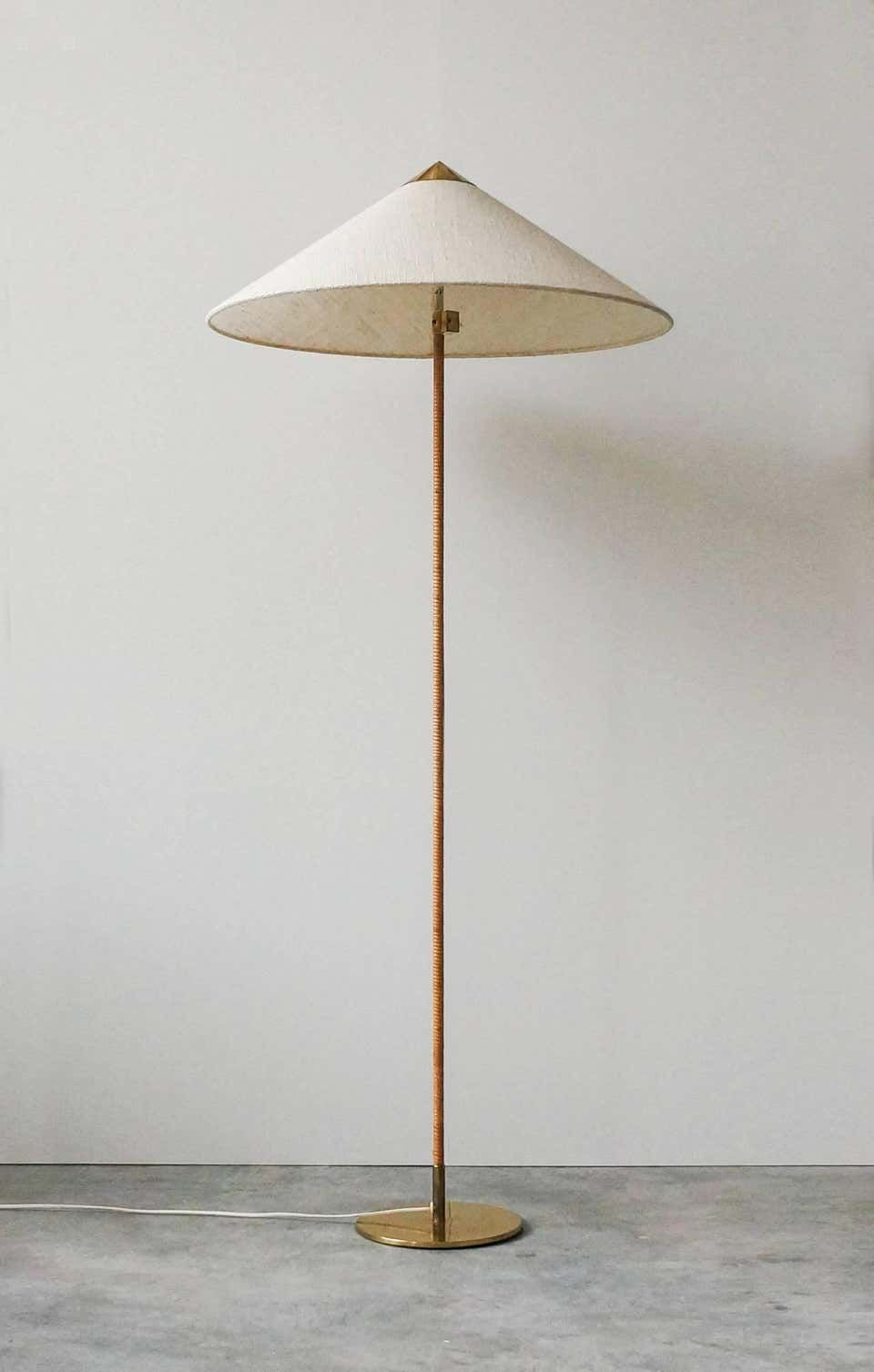 Paavo Tynell Floor Lamp Model 9602 By Taito Oy 1940s Lamps Living Room Floor Lamp Living Room Lighting