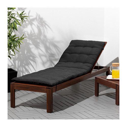 Applaro Chaise Longue Teinte Brun Brun Chaise Espreguicadeira Produtos Ikea