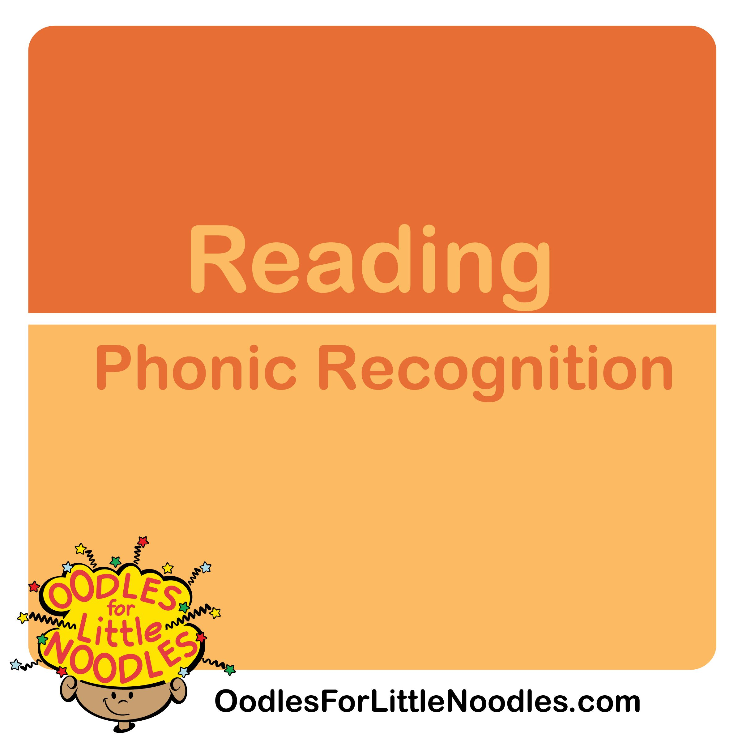 Oodles Of Ideas For Phonics