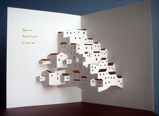 Origamic Architecture Instructions Free Kirigami Templates A