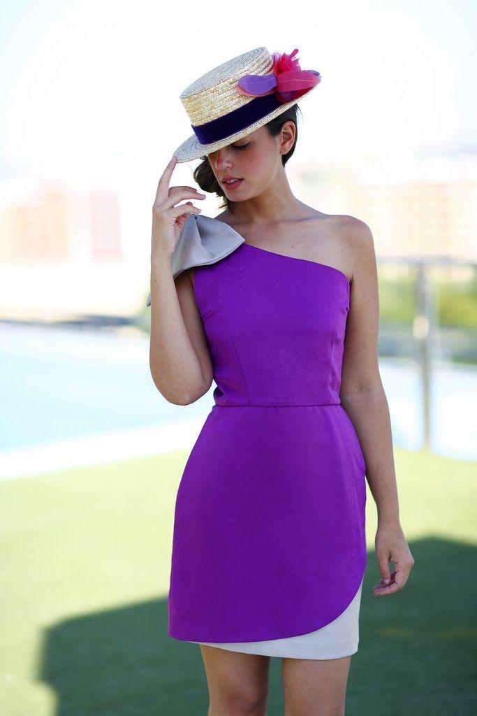 En Malva | 1sillaparamibolso | Vestidos de cóctel | Pinterest ...