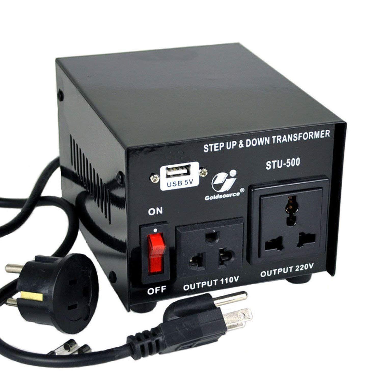 500W Step Up Down 220V to 110V Voltage Converter Transformer Heavy Duty