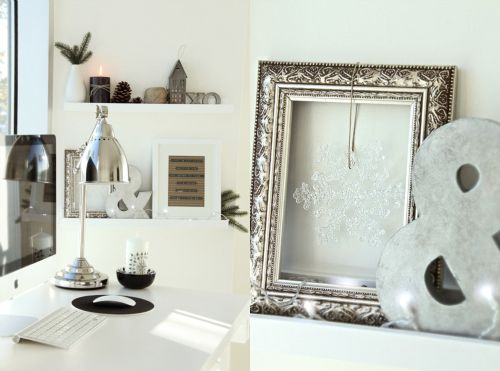 hanging decor in a beautiful empty frame... | My Ideas | Pinterest ...