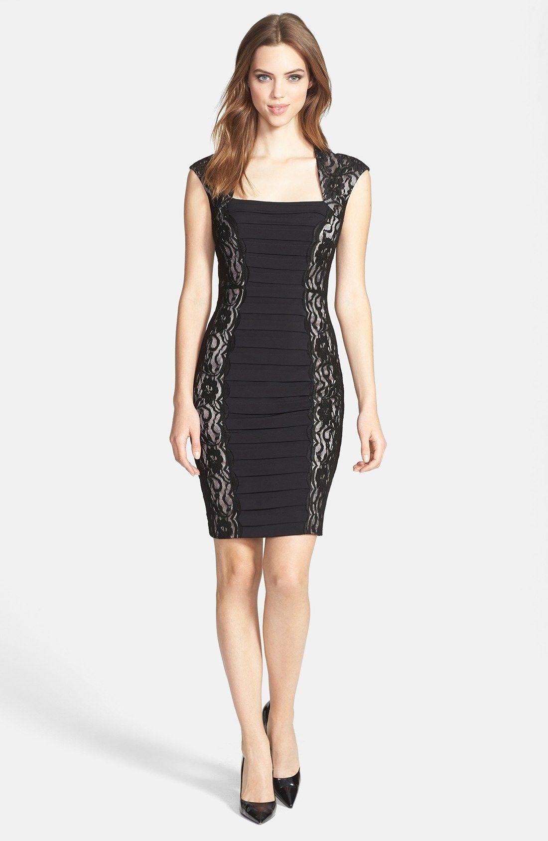 http://www.lyst.com/clothing/jax-shutter-pleat-lace-side-jersey ...