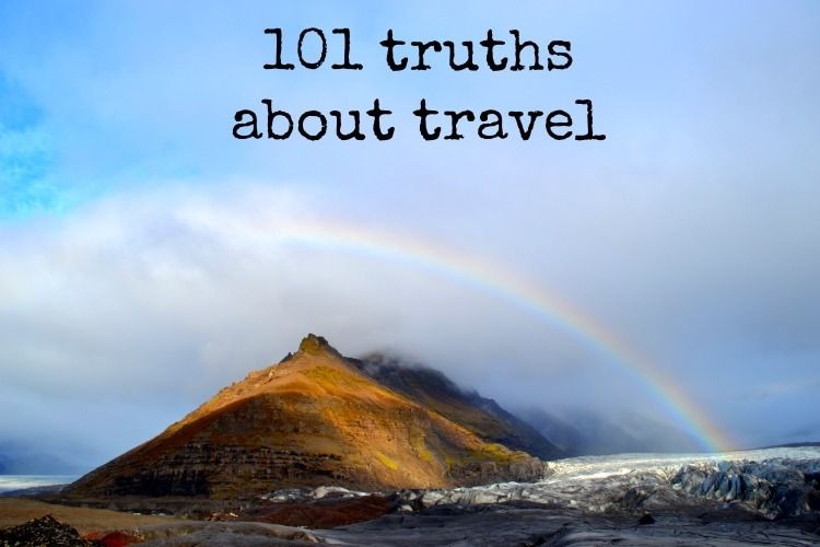 101 truths of travel