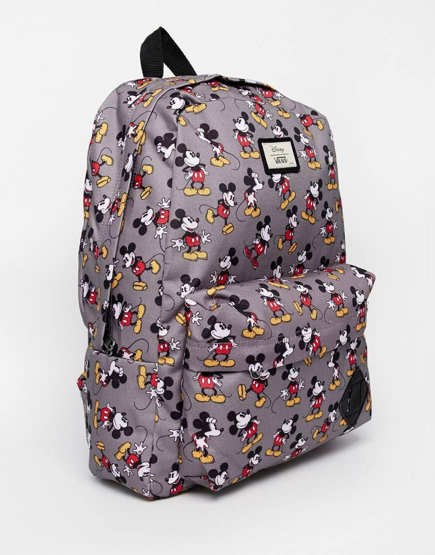 image 2 vans x disney sac dos motif mickey mouse sacs dos pinterest vans backpack. Black Bedroom Furniture Sets. Home Design Ideas
