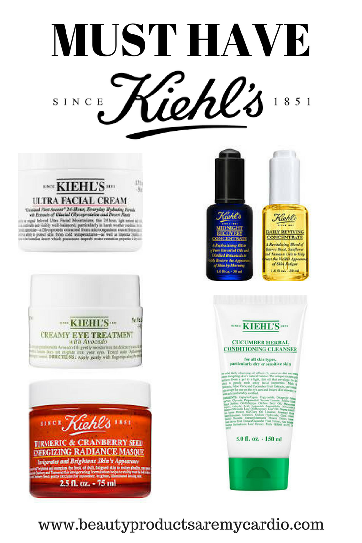 Must Have Kiehl S Skincare Bpamc Picks Beauty Products Are My Cardio Kiehls Skincare Skin Care Skin Care Tips