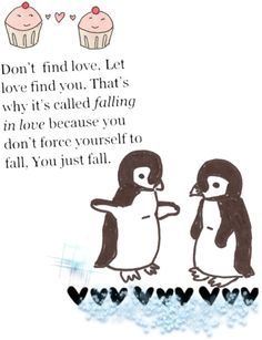 "Penguin Love Quotes Prepossessing Penguins In Love Quotes ""penguin Love Philosophy"" Relationships"