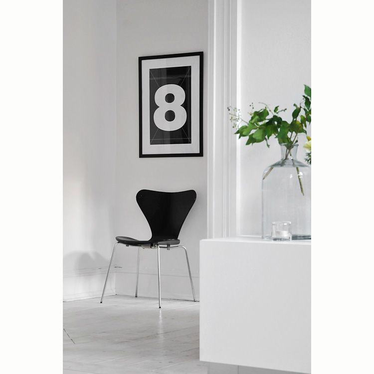 Number Five, 50x70 i gruppen Tavlor & Posters hos RUM21 AB (109471)