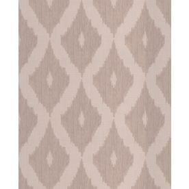 Graham & Brown Kelly Hoppen Taupe Vinyl Textured Geometric Wallpaper 3