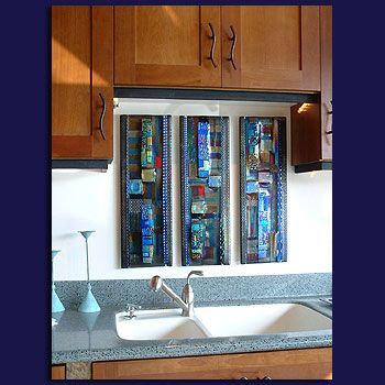 Wall Panels - Glass Art by Mark Ditzler Glass Studio