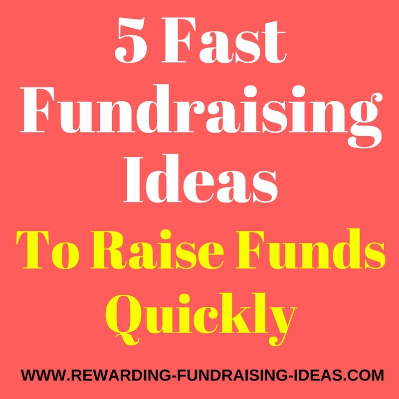 5 Fundraising Ideas to Raise Funds Quickly Fast