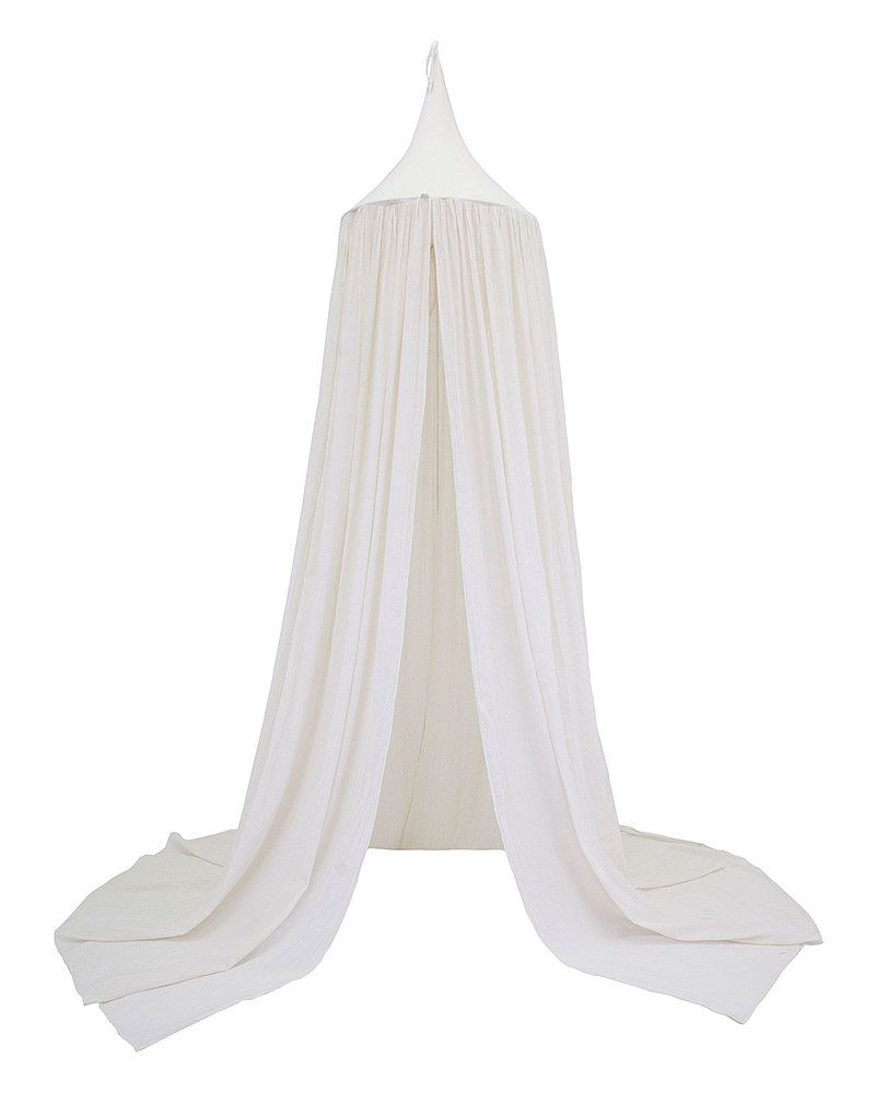 Numero 74 Bed Canopy - White - 100% Cotton Muslin Canopies | Ellie ...
