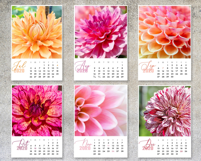 Free Printable 5 X 7 Calendar 2020