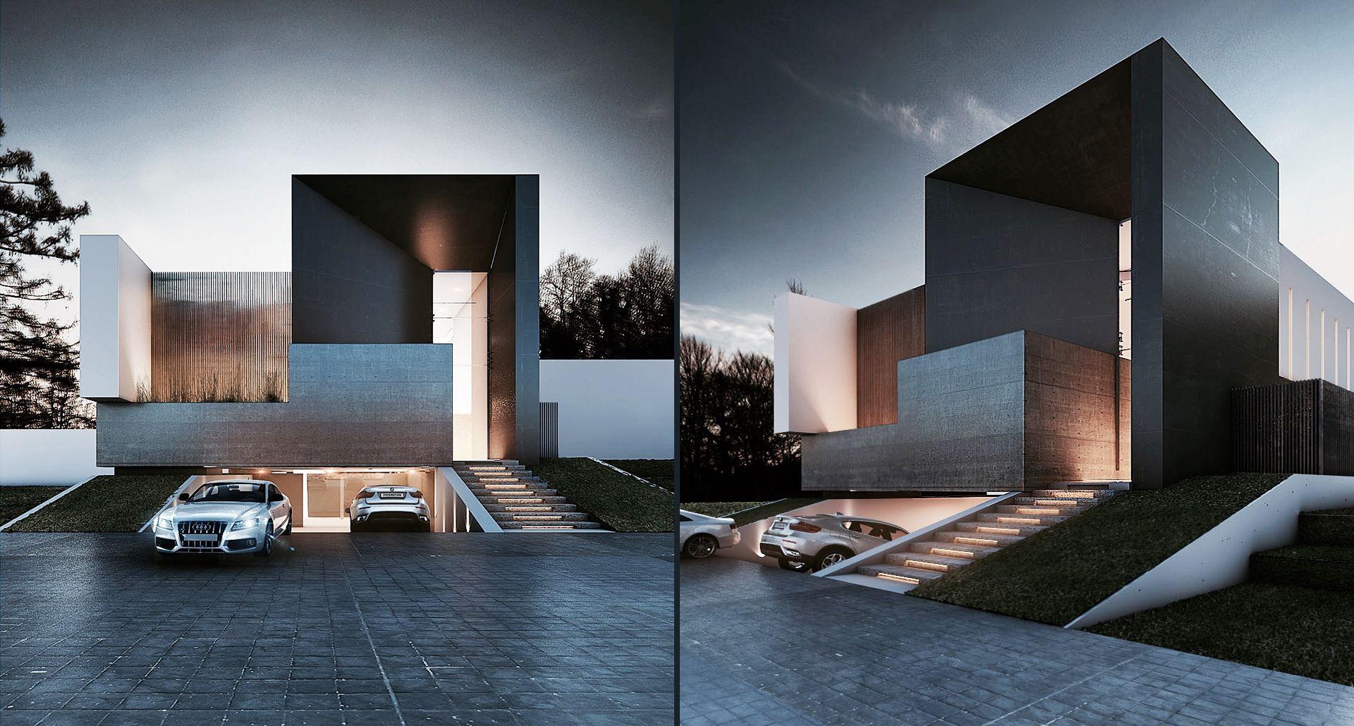 CASA TERRA / Denmark   Creato Arquitectos   Casas Minimalistas ...