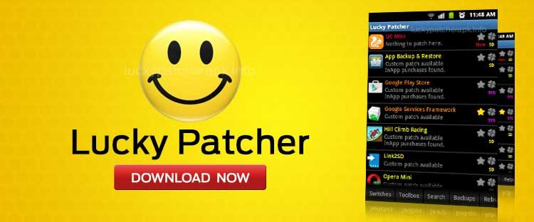 Lucky Patcher is an Android app to hack games, block ads