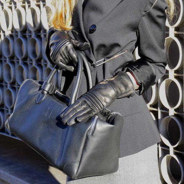 Veryverve Golden Goose Equipage bag, gloves & blazer.