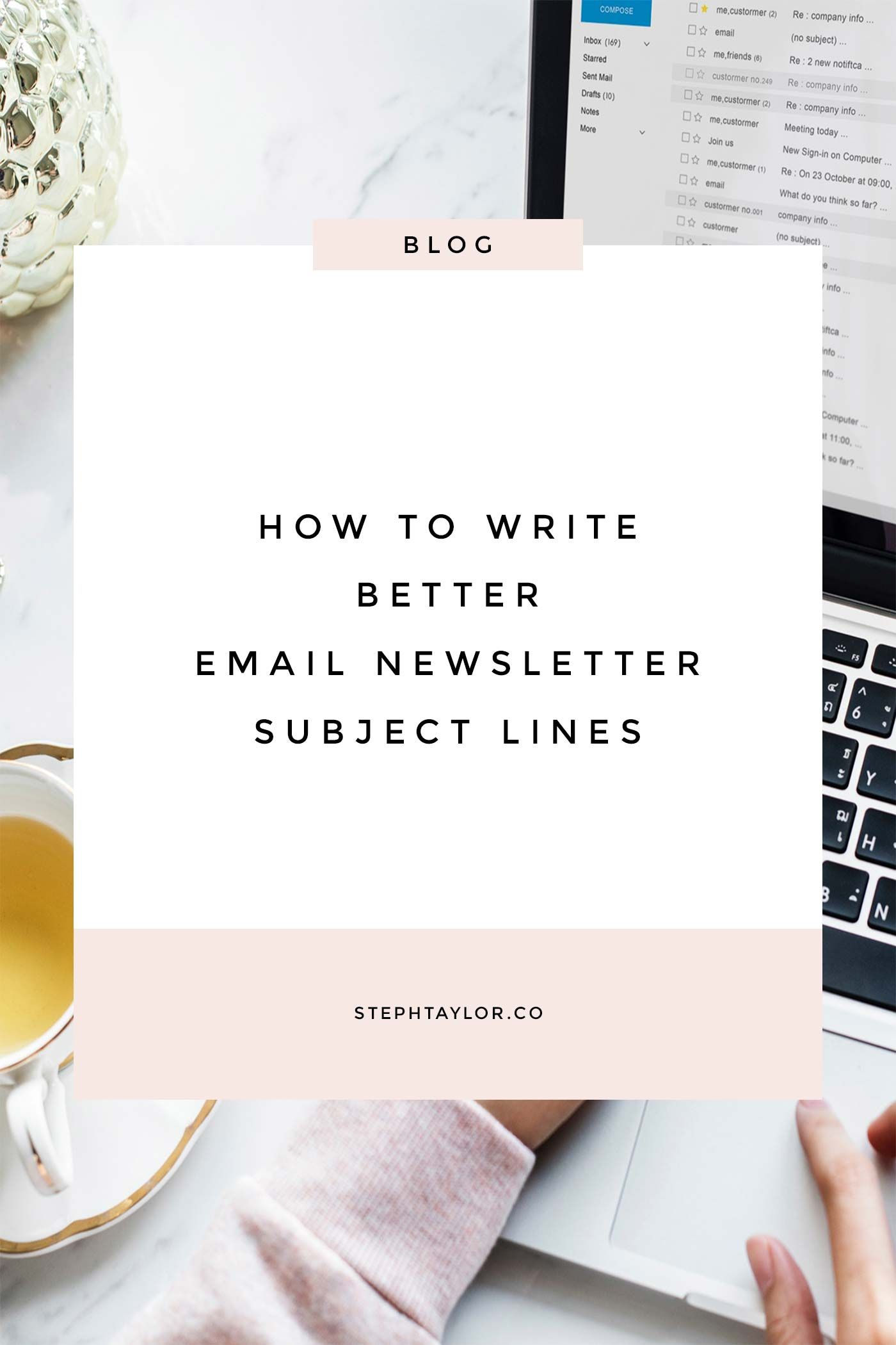 How to write better subject lines for your email