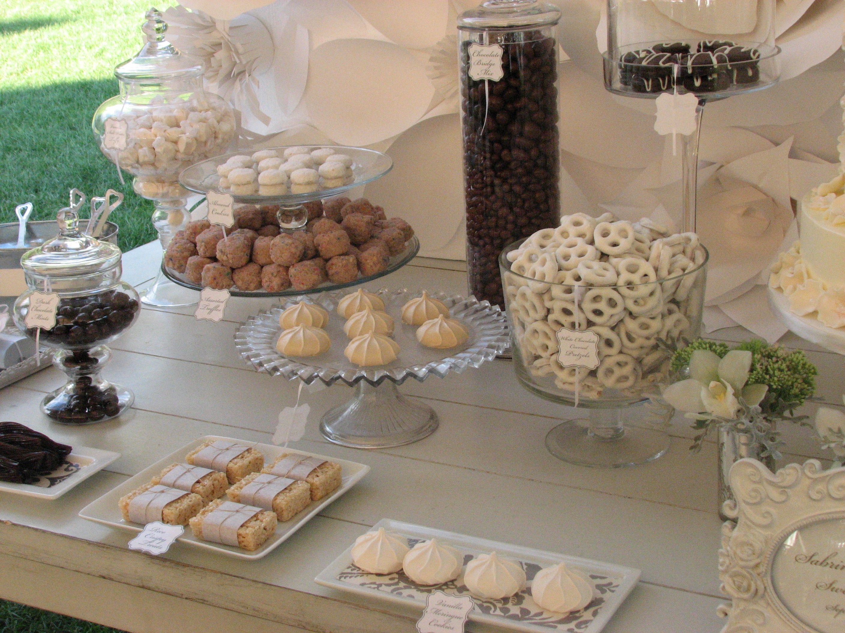Chanel Inspired Candy Table. Wedding coordinated by Donna Kim of ...