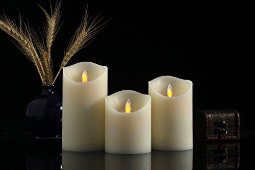 Air Zuker Led Kerzen Mit Beweglicher Flamme Echt Led Candles