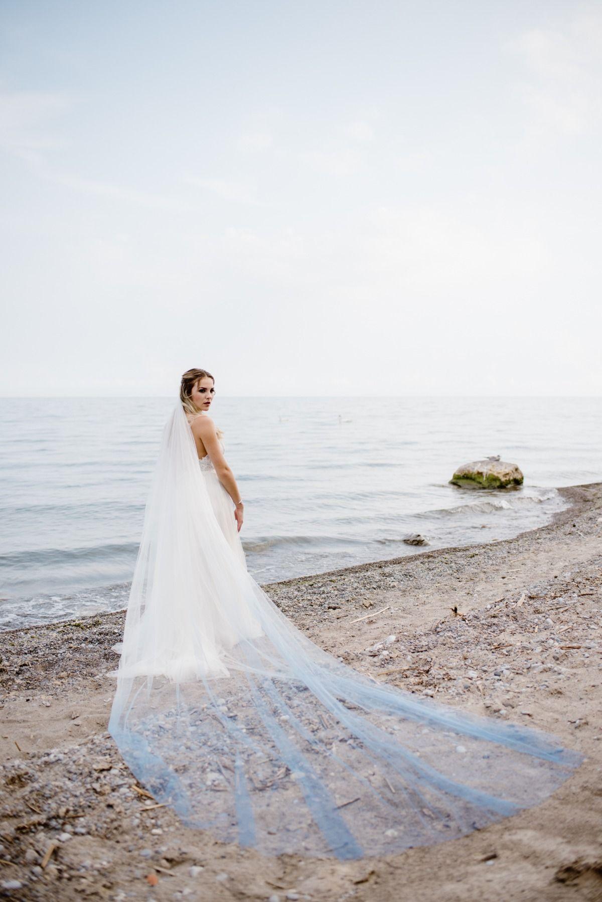 Dreamy Misty Blue And Burgundy Beach Wedding Inspiration Beach