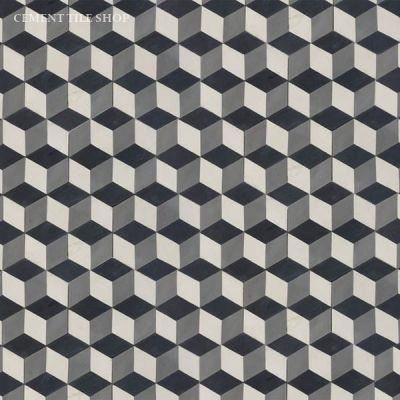 Cement Tile Shop - Handmade Cement Tile | Harlequin Hex