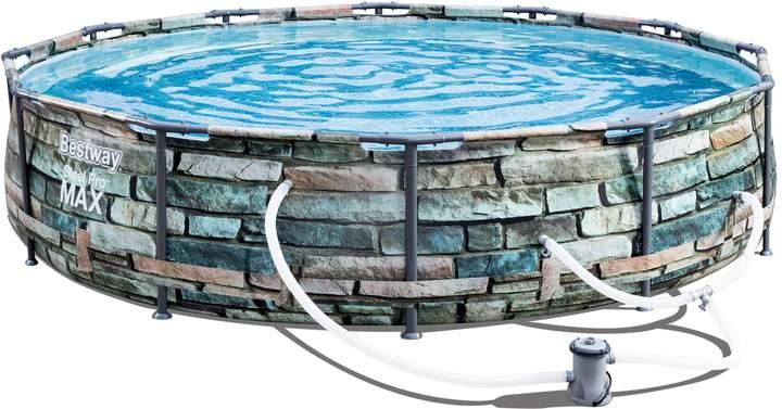 Best Way Steel Pro Max 12 X 30 Pool Set Portable Pools Pool Bestway