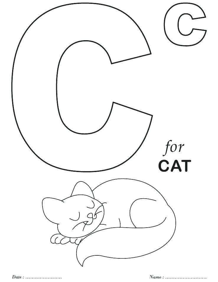 The Letter A Coloring Pages Printable Letter Coloring Pages Kindergarten Coloring Pages Preschool Coloring Pages Alphabet Coloring
