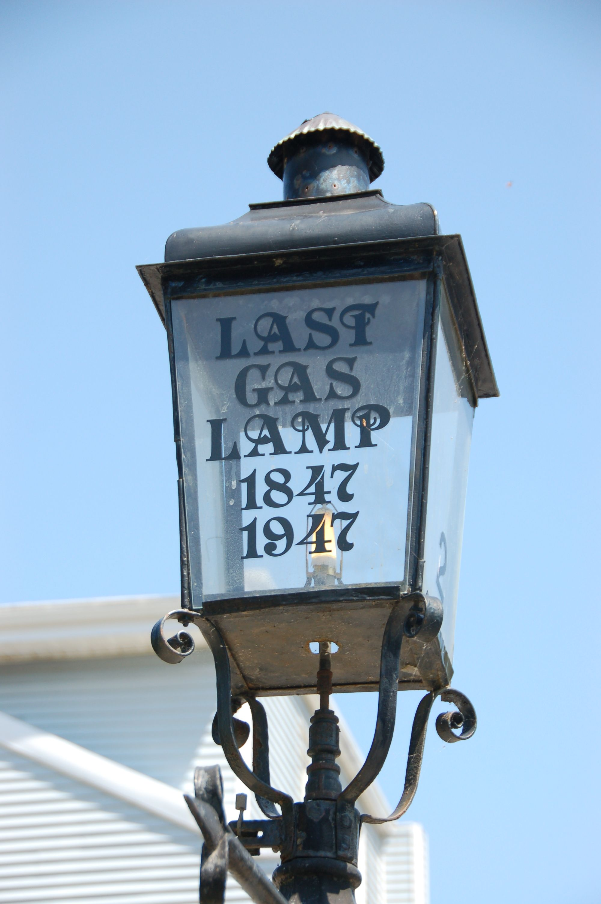 Last Gas Lamp | Kingston, Ontario, Canada | Kingston, Ontario, Island