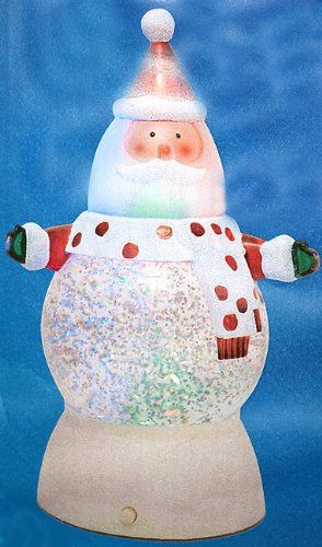 Save 500 on 7 Battery Operated LED Lighted ColorChanging Santa