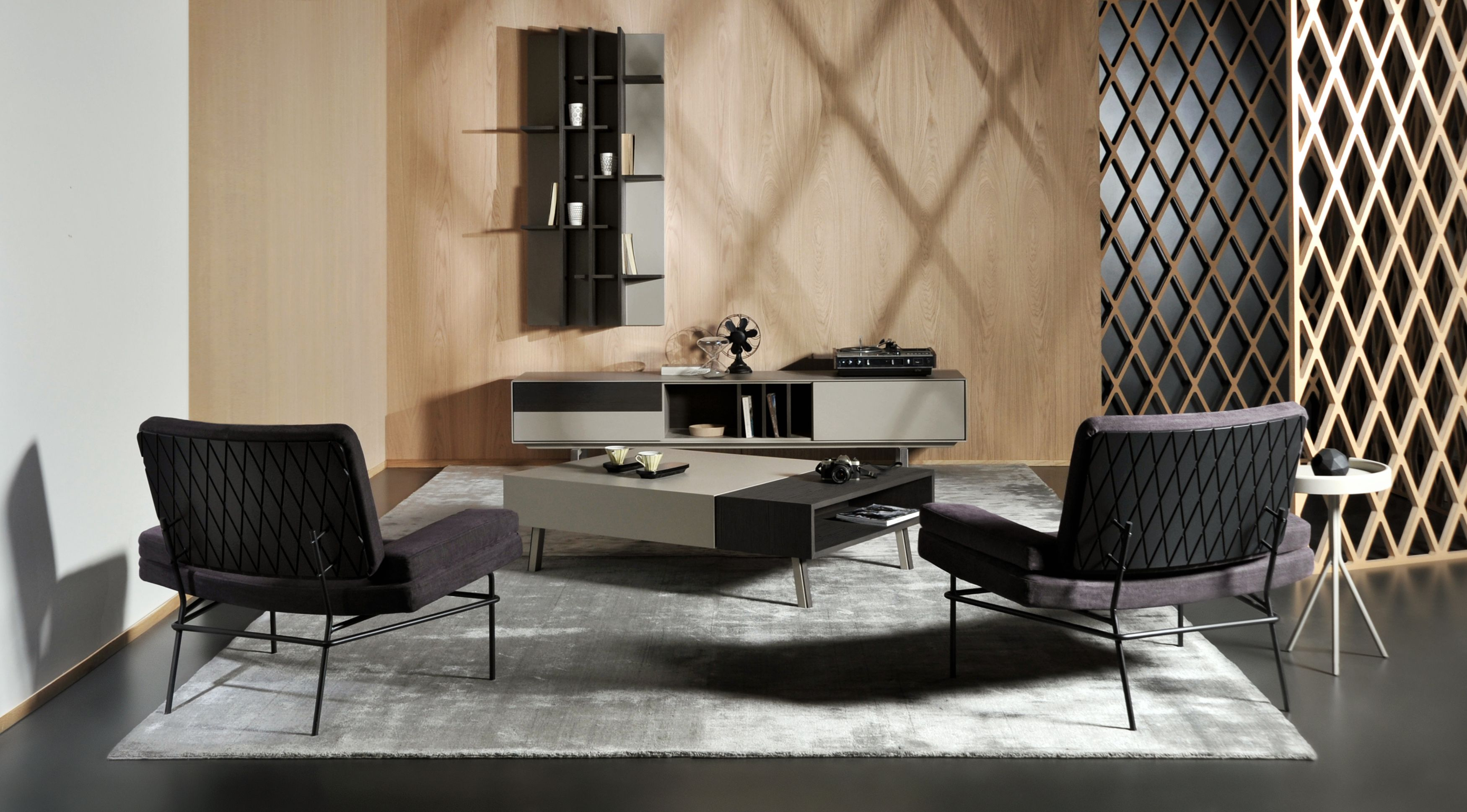 Moderne Wohnzimmer Möbel Von Al2 Möbel Wohnzimmer Sessel Couchtisch einrichten