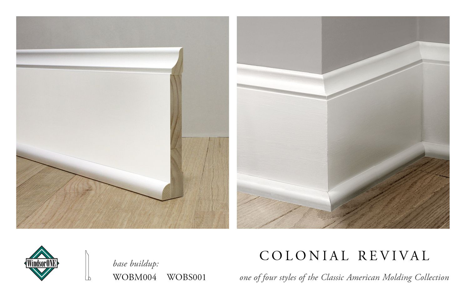 Colonial Revival Moldings, 20th century style | Mermaid Lane