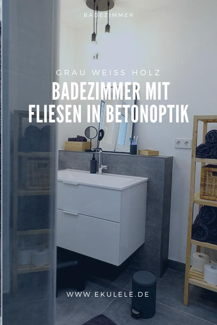 Neues Bedezimmer Renovierung Grau Und Weiss Fliesen Xxl Fliesen Betonoptik Badezimmer Neues Badezimmer