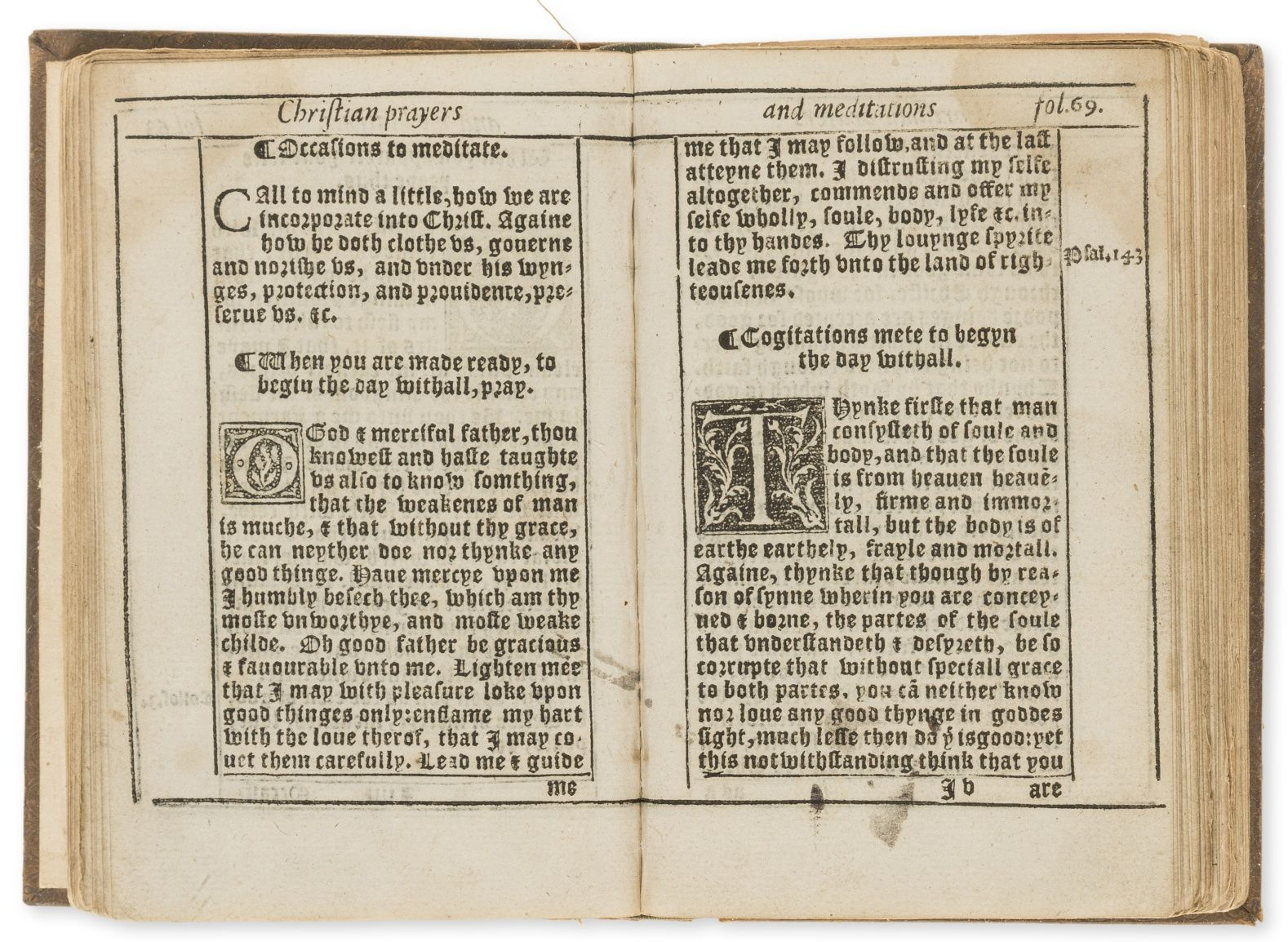 Lot 281 only known copy of the earliest elizabethan