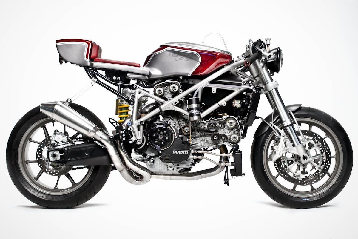 cafe racer ducati 749south garage motorcycles - #caferacer