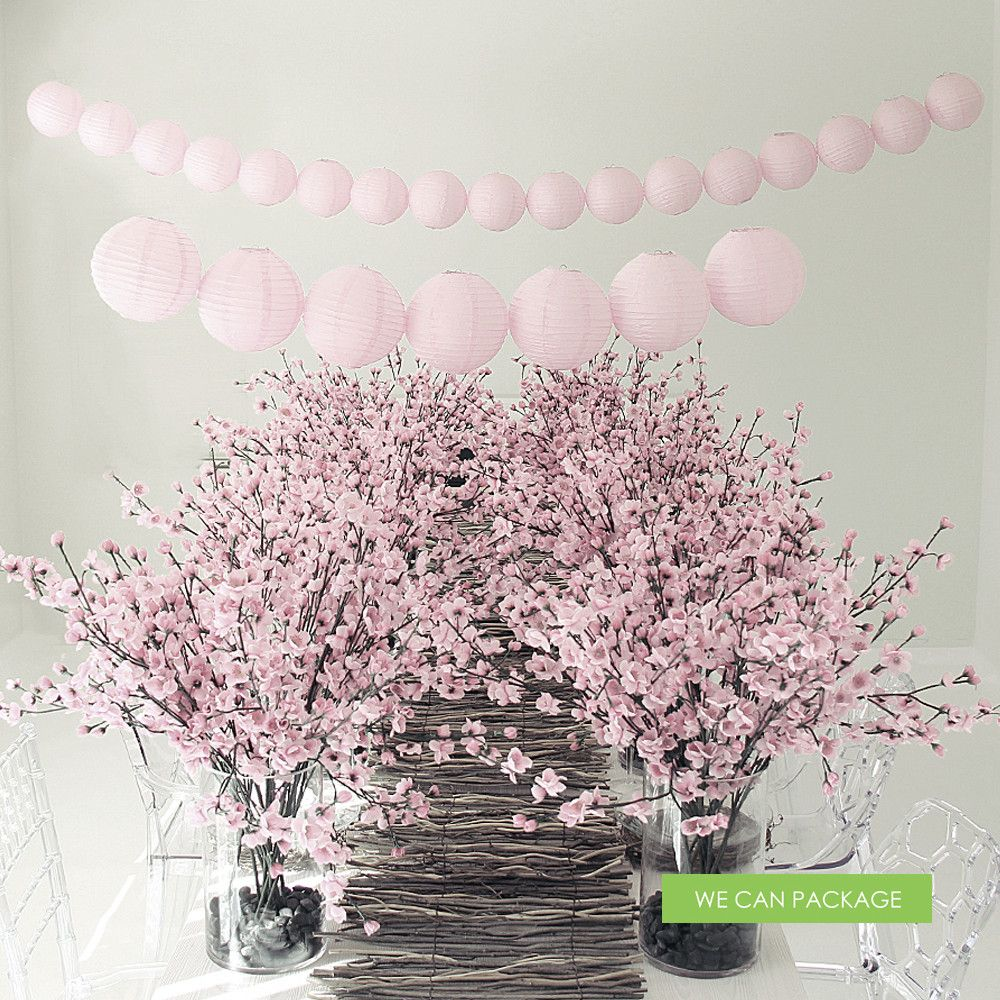 Cherry Blossom Table Decorations Cherry Blossom Centerpiece Cherry Blossom Wedding Centerpieces Cherry Blossom Wedding