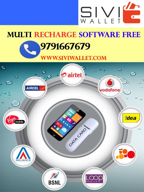 We provide online all mobile and Web based recharge software