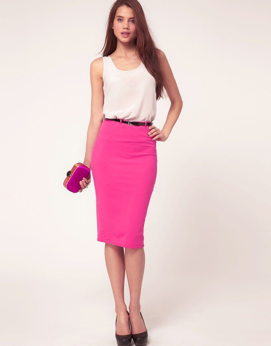 pencil skirt outfits 09 - #outfit #style #fashion | Outfits ...
