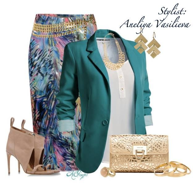 Like if you'd wear this gorgeous look!
