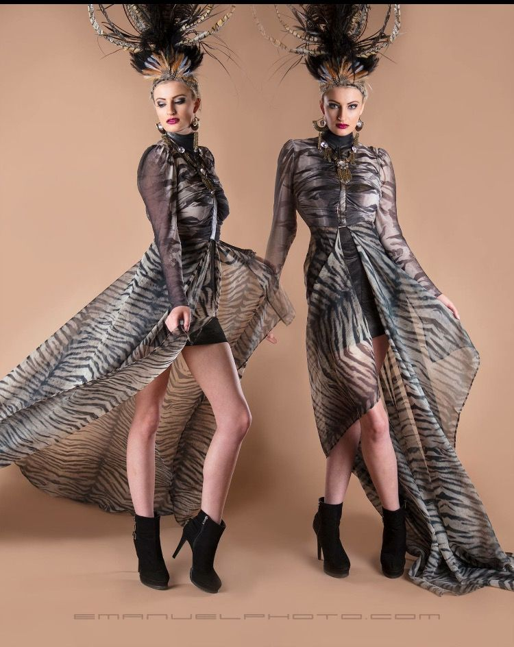 For Galina Couture Dress designer Antoaneta Balabanova Lana May
