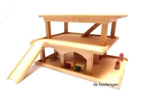 Houten Garage Speelgoed : Garage met parkeerbon voorbeelden houtbewerking