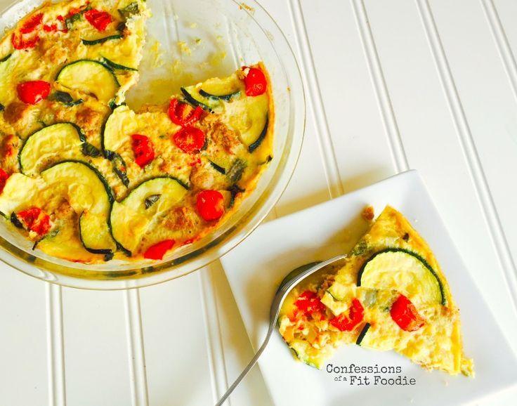 21 day fix sausage and zucchini quiche dairyfree and