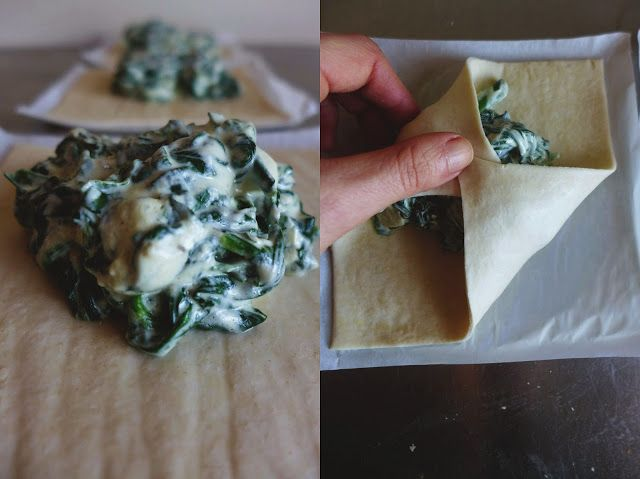 petiscosemiminhos: Folhados de espinafres e queijo/ Spinach and cream cheese pastry
